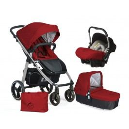 CASUALPLAY - Set kočárek LOOP Aluminium, autosedačka Baby 0plus, vanička Cot a Bag 2017 - Indian