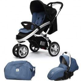 CASUALPLAY - Set sportovní kočárek S4, autosedačka Sono a Bag 2015 - Lapis Lazuli