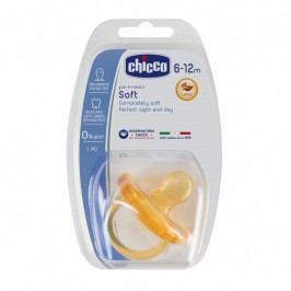 CHICCO - Cumlík  celokaučukový Physio Soft 6-12m+