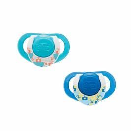 Kaučukový dudlík Physio 12+, modrý, 2ks