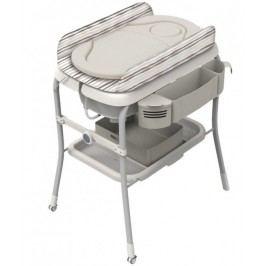 Přebalovací stolek s vaničkou Cuddle & Bubble - Silver