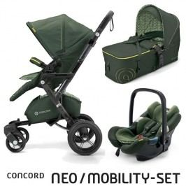 CONCORD - Mobility Set Neo Air + Scout limitovaná edice Jungle Green Concord 2016