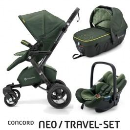 CONCORD - Travel Set Neo Air + Sleeper limitovaná edice Jungle Green Concord 2016