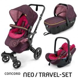 CONCORD - Travel Set Neo Air + Sleeper Rose Pink Concord 2016