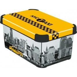 CURVER - Dekorativní úložný box - S - NEW YORK