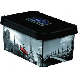 CURVER - Dekorativní úložný box - S - PARIS