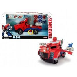 DICKIE - Transformers Optimus Prime Battle Truck 23 cm