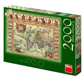 DINO - Historická Mapa Světa 2000D
