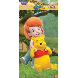 DISNEY - 3D Dekorace Pooh a Darby XL