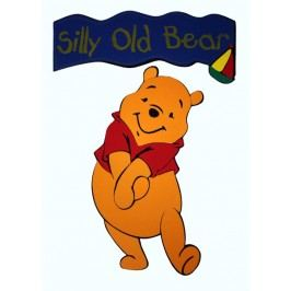 DISNEY - Pooh s nápisem