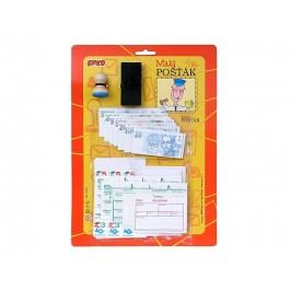 EFKO-KARTON - Malý pošťák, na kartě
