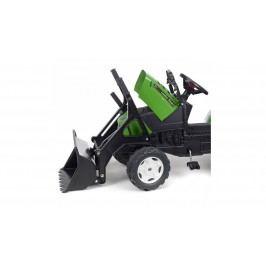 FALK - Šlapací traktor 2021 FARM LANDER Z240X s nakladačem a vlečkou zelený