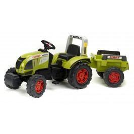 FALK - Šlapací traktor 991B Claas Arion 540 s vlečkou