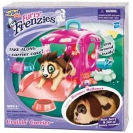 HASBRO - Furry Frenzies Přenosný domeček s Interaktivním zvířátkem