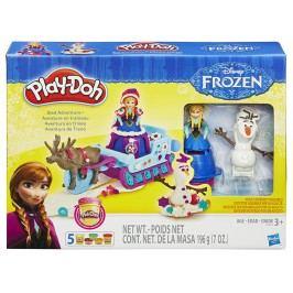 HASBRO - Play Doh Frozen Dobrodružství na saních