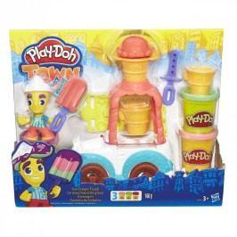 HASBRO - Play Doh Playdoh Town zmrzlinářské Auto