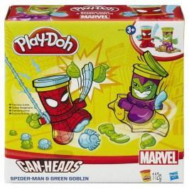 HASBRO - Play Doh Kelímky V Tvaru Hrdinů Marvel