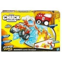 HASBRO - Tonka Chuckovi přátelé sada požárník / popelář