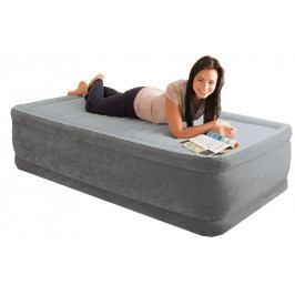 INTEX - nafukovací postel 64412 Comfort Twin s integrovanou elektrickou pumpou