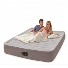 INTEX - nafukovací postel 67770 Comfort Queen s integrovanou elektrickou pumpou