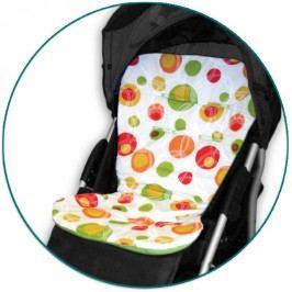 IVEMA BABY - Vložka do kočárku Maxi Color - oranžové bubliny / limetka