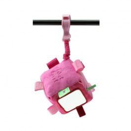 LABEL-LABEL - Kostka se skřipcem, růžová