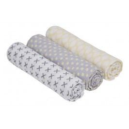 Lässig - Bavlněné pleny swaddle Burp blanket 85 x 85 - Riddle