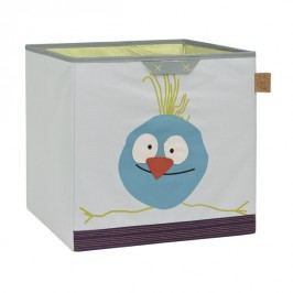 LÄSSIG - koš na hračky, Toy Cube Storage Wildlife birdie