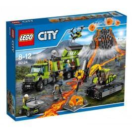 LEGO - City 60124 Sopka Základna průzkumníků