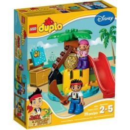 LEGO - DUPLO 10604 Pirát Jake Ostrov pokladů