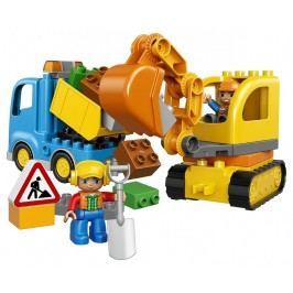 LEGO - Pásový bagr a náklaďák
