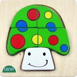 LENA - Dřevěné puzzle Hřib 32138
