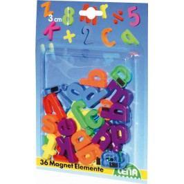 LENA - Magnetické písmenka malé 65746
