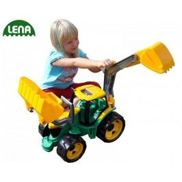 LENA - Traktor s lžící a bagrem