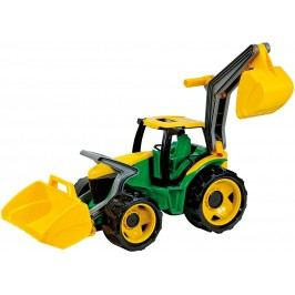 LENA - Traktor S Lžící A bagru, Zeleno-Žlutý