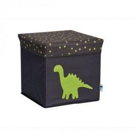 LOVE IT STORE IT - 2 v 1 židle k sezení a úložný box - dinosaurus