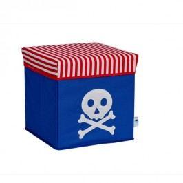 LOVE IT STORE IT - 2 v 1 židle k sezení a úložný box Piráti - pirát