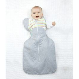 LOVE TO DREAM - Rychlozavinovačka Swaddle Up 50/50 Winter, Multi Stripe 8,5 - 11 kg