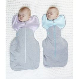 LOVE TO DREAM - Rychlozavinovačka Swaddle Up Winter, Turquoise 6 - 8,5kg