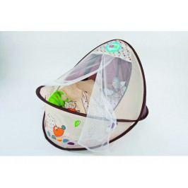 LUDI - Cestovní postýlka / hnízdo pro děťátko Nature