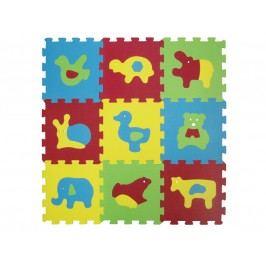 Lidí - Puzzle pěnové 84x84 cm zvířátka Basic