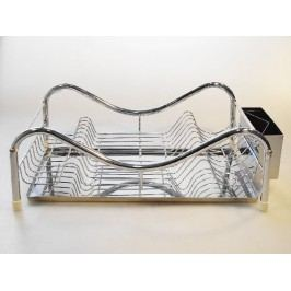 Nerezový odkapávač na nádobí 47 x 32 cm