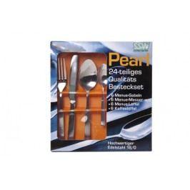 Nerezový příbor Pearl 24 - dílný