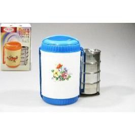 jídlonosič 4dílná plast + nerez 4x250ml
