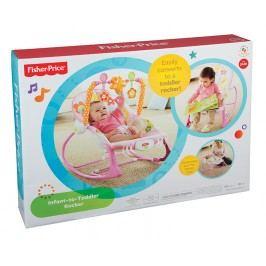 MATTEL - Fisher Price Baby Gear sedačka od miminka po batole, růžové