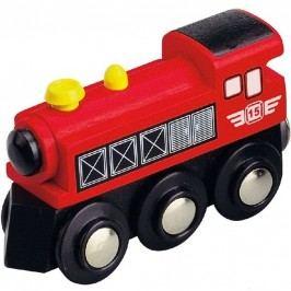 MAXIM - Parní lokomotiva červená 50399