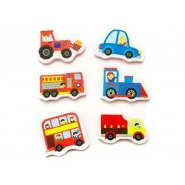 MEADOW KIDS - Pěnové samolepky do vany Dopravní prostředky