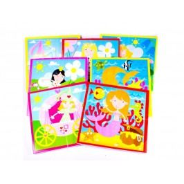 MEADOW KIDS - Puzzle do vany Víly a princezny