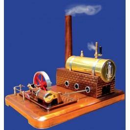 MERKUR - Stavebnice Merkur Parní stroj médium