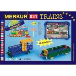 MERKUR - Stavebnice Železniční modely M031